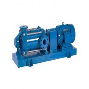 Máy bơm cấp nước tiêu chuẩn Versar HPM-Model trục ngang đa tầng cánh