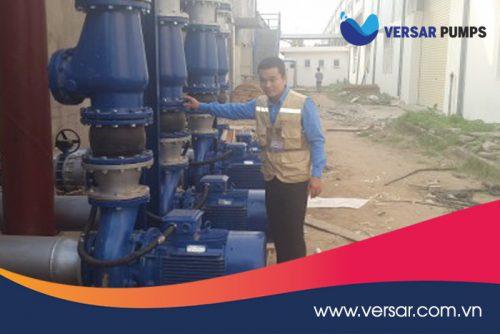 Đảm bảo yêu cầu thuật khi bảo dưỡng máy bơm Versar