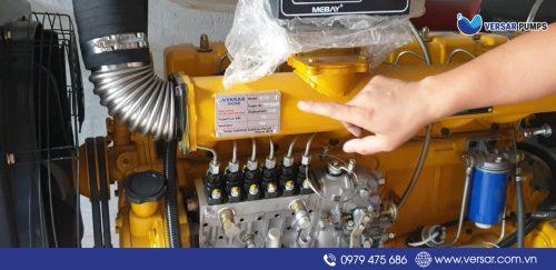 Tem thương hiệu máy bơm Versar nhập khẩu chính hãng