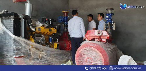 Cung cấp máy bơm Versar 110 kw tại Khu công nghiệp An Dương Hải Phòng thumbnail