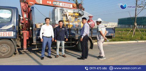Cung cấp máy bơm Máy bơm Diesel Versar 155KW nhập khẩu chính hãng