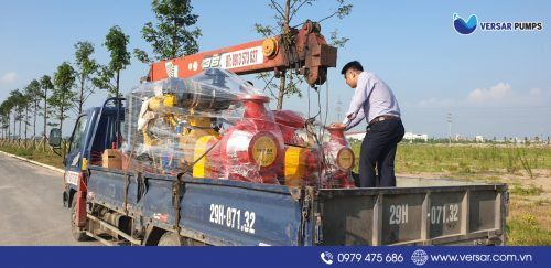 Cung cấp máy bơm điện 110kW/150HP VERSAR Made in Singapore