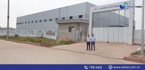 Cung cấp hệ thống chữa cháy cho nhà máy DATATRONIC EXCEL PROJECT