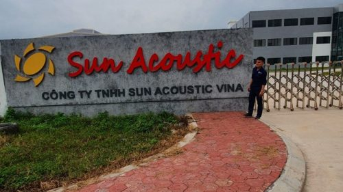 Cung cấp máy bơm Versar tại Công ty TNHH Sun Acoustic Vina