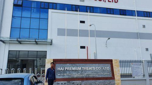Dự án cung cấp máy bơm nước Versar cho HAI PREMIUM TREATS CO., LTD