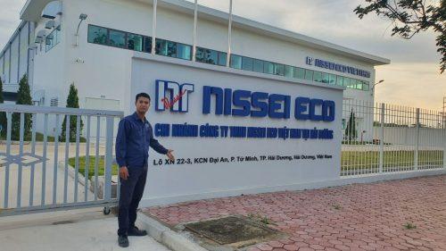 HOCHIKI cung cấp máy bơm Versar cho công ty NISSI ECO