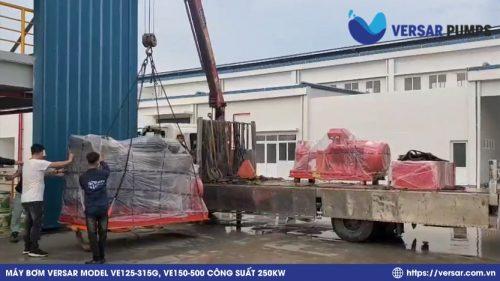 Dự án cung cấp bơm Versar tại Công Ty TNHH Công Nghiệp Chính Xác Việt Nam 1